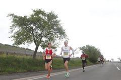 Marathon Deutsche Weinstrasse Stockfoto