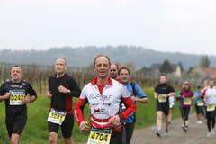 Marathon Deutsche Weinstrasse Stockfotos