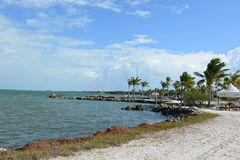 Marathon Florida. Water-front scenery in The Florida Keys Stock Photography