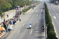 Marathon game Stock Images