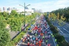 Marathon game Royalty Free Stock Images