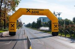 Marathon gate Stock Images