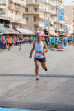 Marathon in Greece Royalty Free Stock Images