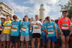 Marathon in Greece Royalty Free Stock Photos