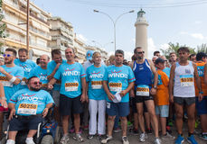 Marathon in Greece Stock Photo