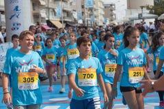 Marathon in Greece Stock Photography