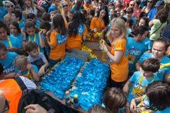 Marathon in Griekenland Stock Afbeeldingen