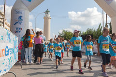 Marathon in Griekenland Royalty-vrije Stock Afbeelding