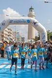 Marathon in Griekenland Stock Foto