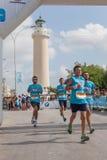 Marathon in Griekenland Royalty-vrije Stock Foto
