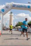 Marathon in Griekenland Royalty-vrije Stock Foto's