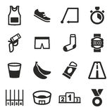 Marathon Icons Stock Image
