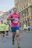 Marathon international 04 de Bucarest de banque de Raiffeisen 10 2015 Images libres de droits