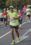 Marathon international 2015 de Bucarest de banque de Raiffeisen Image libre de droits