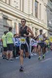 Marathon international 04 de Bucarest de banque de Raiffeisen 10 2015 Photographie stock