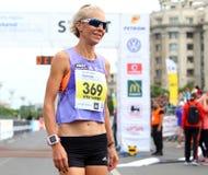 Marathon international 2015 de Bucarest demi Image stock