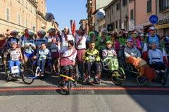 Marathon 2017, Italie de Rimini photo stock