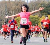Marathon-Läufer stockfoto