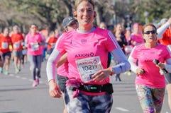 Marathon-Läufer stockbild