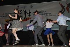 Marathon latin Photos libres de droits