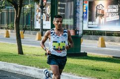 Marathon Lima 42k stockfotos