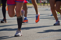 Marathon lopend ras Stock Afbeeldingen