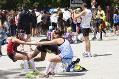 Marathon Madrid Stockfotografie