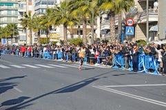 Marathon Man - Running Sport Athelete Athletics Fitness Royalty Free Stock Photo