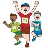 Marathon Men Royalty Free Stock Photos