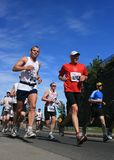 Marathon - Men from low angle Royalty Free Stock Photos