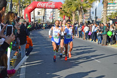 Marathon Men Royalty Free Stock Photo