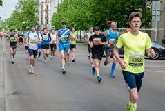 24. Marathon Nordea Riga Lizenzfreie Stockfotografie
