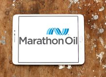Marathon Oil Corporation商标 库存照片