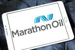 Marathon Oil Corporation商标 免版税图库摄影