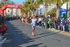 Marathon Pain royalty free stock photography
