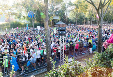 Marathon of Paris, France Royalty Free Stock Image