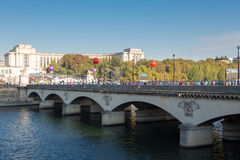 Marathon of Paris, France Stock Photo