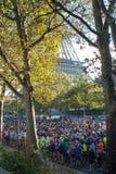 Marathon of Paris, France Stock Images