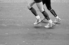 Marathon of Paris - runners Royalty Free Stock Photography