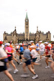 Marathon - Parlament - Gruppe Stockfotos
