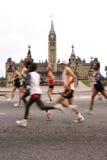 Marathon Passing Parliament 5 Royalty Free Stock Image