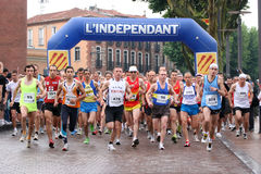 Marathon of Perpignan Stock Image