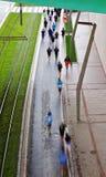 Marathon populaire à Bilbao Image libre de droits