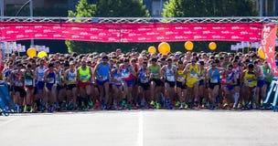 Marathon race Stock Images