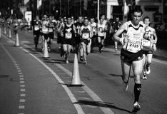 Marathon race Stock Photography