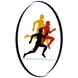 Marathon race Stock Image