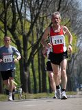 Marathon racers Royalty Free Stock Image