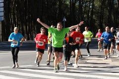 Marathon-Rennläufer Stockbilder