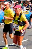 Marathon Rotterdam stock foto
