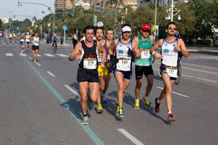 Marathon Run Stock Photography